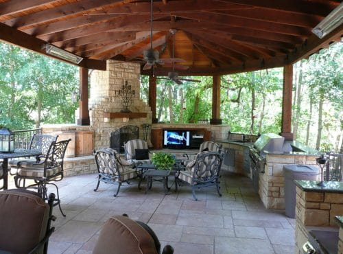 Custom Outdoor Kitchens by McGee Pool