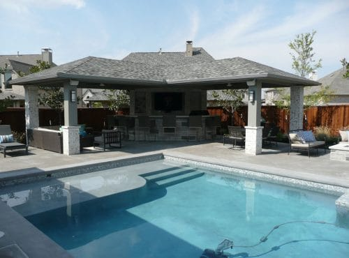 Custom Outdoor Structures by McGee Pool